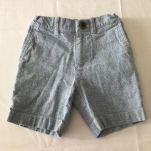 JCrew linen and cotton shorts